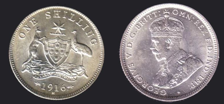One shilling-1916