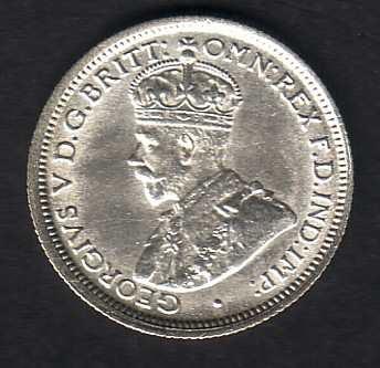 uncirculated sixpence