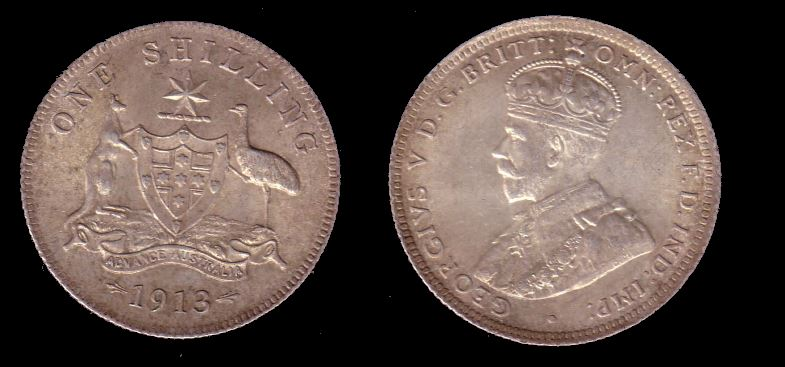 shilling 1913