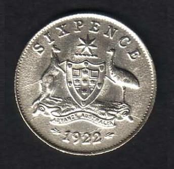 sixpence 1922