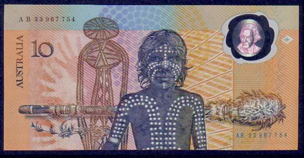 ten dollars Aborginee