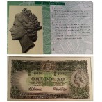 NPA 1991 25th Anniversary Banknote Set - 1 Pound note