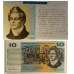 NPA 1991 25th Anniversary Banknote Set 10 dollar note
