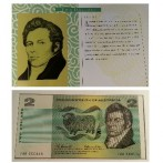 NPA 1991 25th Anniversary Banknote Set 2 dollar note